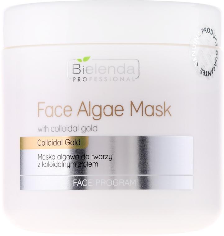 Maschera viso alle alghe e oro colloidale - Bielenda Professional Face Algae Mask