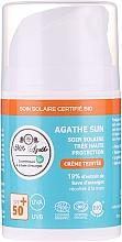Profumi e cosmetici Crema solare alla bava di lumaca - Mlle Agathe Sun SPF 50+