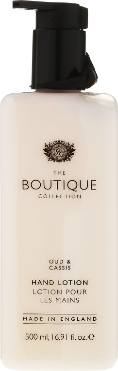 "Lozione mani ""Oud e ribes nero"" - Grace Cole Boutique Hand Lotion Oud & Cassis — foto N1"