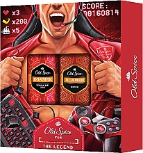 Profumi e cosmetici Set - Old Spice Roamer Gamer (deo/50g + sh/gel/250ml)