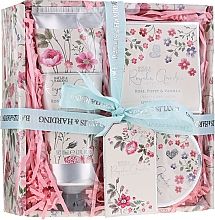 Profumi e cosmetici Set - Baylis & Harding Royale Garden Rose Poppy And Vanila (sh/cr/130ml + b/butter/100ml + soap/150g)