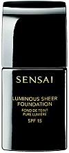 Profumi e cosmetici Fondotinta - Kanebo Sensai Luminous Sheer Foundation