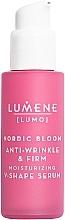 Profumi e cosmetici Siero viso rassodante e rinforzante - Lumene Lumo Nordic Bloom Anti-wrinkle & Firm Moisturizing V-Shape Serum