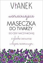Profumi e cosmetici Maschera viso rinforzante - Vianek