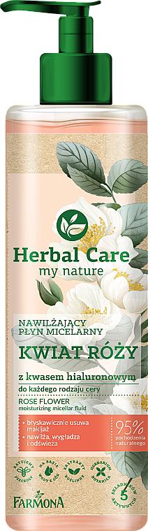 Acqua micellare idratante ai fiori di rosa - Farmona Herbal Care Micellar Water