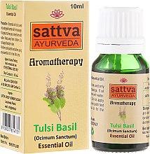 Profumi e cosmetici Olio essenziale - Sattva Ayurveda Tulsi Basil Essential Oil