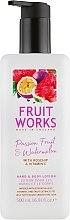 """Profumi e cosmetici Lozione mani e corpo """"Frutto della passione e anguria"""" - Grace Cole Fruit Works Hand & Body Lotion Passion Fruit & Watermelon"""