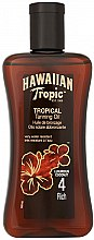 Profumi e cosmetici Olio solare abbronzante - Hawaiian Tropic Tropical Tanning Oil Coconut SPF 4