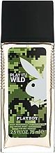 Profumi e cosmetici Playboy Play It Wild - Deodorante profumato per il corpo