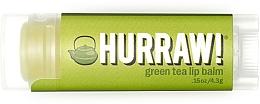 "Profumi e cosmetici Balsamo labbra ""Tè verde"" - Hurraw! Green Tea Lip Balm"