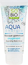 Maschera-scrub all'ossigeno - So'Bio Etic Aqua Energie Oxygenating Mask And Scrub — foto N1