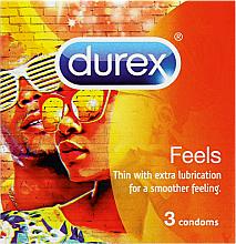 Profumi e cosmetici Preservativi, 3 pz - Durex Feels