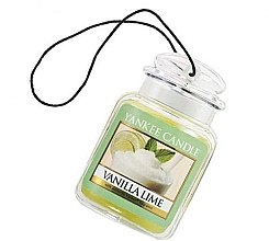 "Profumi e cosmetici Fragranza per auto ""Vaniglia e lime"" - Yankee Candle Vanilla Lime Car Jar Ultimate"