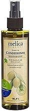 Profumi e cosmetici Balsamo rigenerante senza risciacquo con estratti di bardana ed oliva - Melica Organic Leave-in Regenerative Conditioner