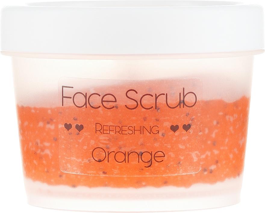"Scrub viso e labbra ""Orange"" - Nacomi Refreshing Face Orange — foto N2"