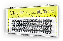 """Profumi e cosmetici Ciglia finte """"Doppio volume"""", 10 mm - Clavier DU2O Double Volume"""
