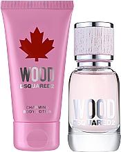 Profumi e cosmetici Dsquared2 Wood Pour Femme - Set (edt/30ml + b/lot/50ml)