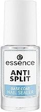 Profumi e cosmetici Base Coat anti-stratificazione delle unghie - Essence Anti Split Base Coat Nail Sealer