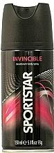 """Profumi e cosmetici Deodorante corpo spray """"Invisibile"""" - Sportstar Deo Body Spray Invicible"""
