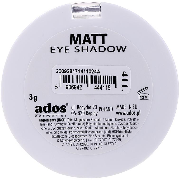 Ombretto opaco - Ados Matt Effect Eye Shadow — foto N8