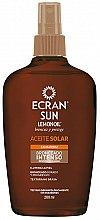 Profumi e cosmetici Olio abbronzante intensivo - Ecran Sun Lemonoil Intensive Tanning Oil Spf2