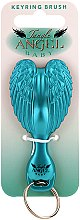 Profumi e cosmetici Pettine-portachiavi per bambini, turchese - Tangle Angel Baby Brush Turquoise