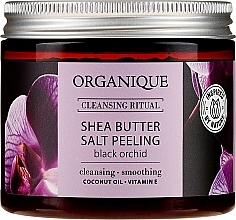 """Profumi e cosmetici Peeling al sale """"Orchidea nera"""" - Organique Shea Butter Salt Peeling Black Orchid"""