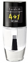 Profumi e cosmetici Top coat rassodante - Lovely 4-in-1 Nail Top Coat