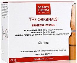 Profumi e cosmetici Fiale per viso - Martiderm Liposomes Ampoules Moisturizing and Firming