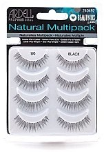 Profumi e cosmetici Ciglia finte - Ardell Natural Multipack Black 110