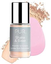 Profumi e cosmetici Correttore - Pur Shake & Bake Powder-to-Cream Under Eye Concealer