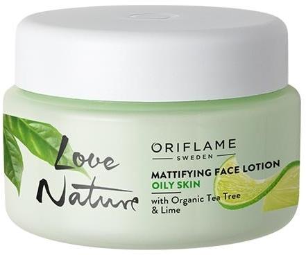 Lozione viso opacizzante - Oriflame Love Nature Mattifyng Face Lotion