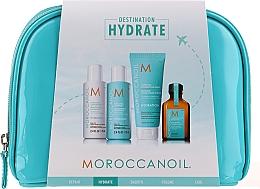 Profumi e cosmetici Set - Moroccanoil Hydrate (shmp/70ml + cond/70ml + mask/75ml + oil/25ml)