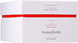 "Candela profumata ""Armonia"" con 3 stoppini - AromaWorks Harmony Candle 3-wick — foto N1"