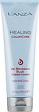Profumi e cosmetici Condizionante per capelli bruni - L'anza Healing ColorCare De-Brassing Blue Conditioner
