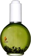 Profumi e cosmetici Olio per unghie e cuticole con fiori - Silcare Cuticle Oil Grapefruit Olive