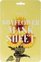 """Profumi e cosmetici Maschera viso """"Girasole"""" - Kocostar Slice Mask Sheet Sunflower"""