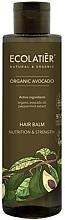 """Balsamo per capelli """"Nutrizione e forza"""" - Ecolatier Organic Avocado Hair Balm — foto N1"""