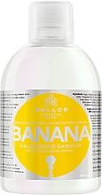 Profumi e cosmetici Shampoo per rafforzare i capelli con complesso multivitaminico - Kallos Cosmetics Banana Shampoo