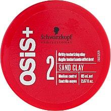 Profumi e cosmetici Pasta-argilla per lo styling - Schwarzkopf Professional Osis+ Texture Sand Clay