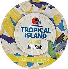 "Profumi e cosmetici Maschera viso ""Banana"" - Marion Tropical Island Banana Jelly Mask"