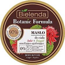 Profumi e cosmetici Burro corpo - Bielenda Botanic Formula Ginger + Angelica Body Butter