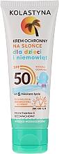 Profumi e cosmetici Crema protettiva per bambini SPF 50 - Kolastyna