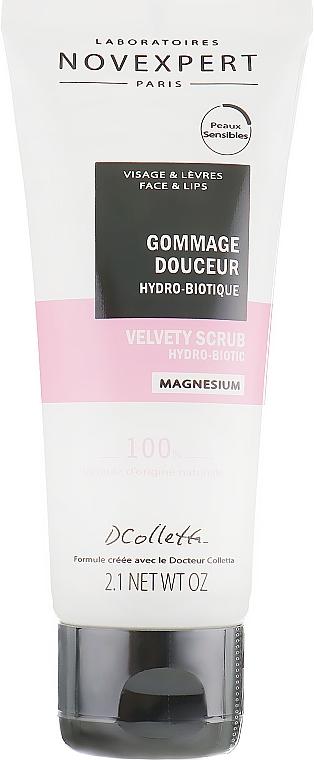 Scrub viso idrobiotico vellutante - Novexpert Magnesium Velvety Scrub Hydro-Biotic