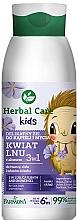 """Profumi e cosmetici Bagnodoccia 3in1 """"Fiore di lino"""" - Farmona Herbal Care Kids"""