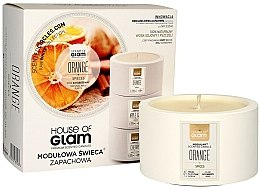 Profumi e cosmetici Candela profumata - House of Glam Orange Spices Candle