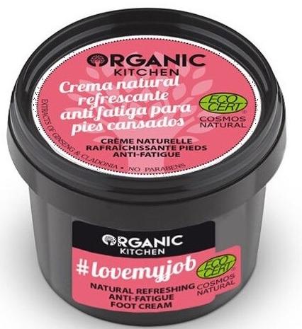 """Crema per piedi rinfrescante """"Adoro il mio lavoro"""" - Organic Shop Organic Kitchen Foot Cream"""