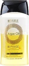 """Profumi e cosmetici Struccante """"Bipolare"""" - Revuele Argan Oil Bi-Phase Waterproof Make-up Remover"""