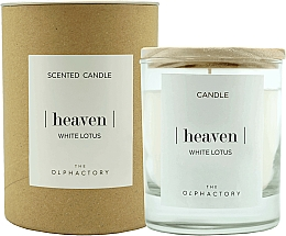 "Profumi e cosmetici Candela profumata ""Loto bianco"" - Ambientair The Olphactory Heaven White Lotus"
