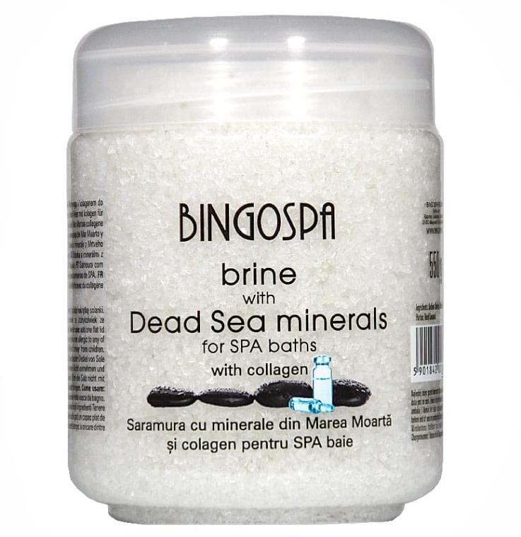 Sale con minerali del Mar Morto e collagene transdermico - BingoSpa — foto N1